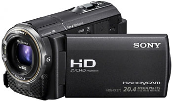 Rent Sony HDR CX570E Full-HD Camcorder