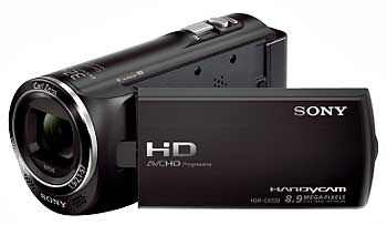 Rent Sony HDR CX360VE Full-HD Camcorder